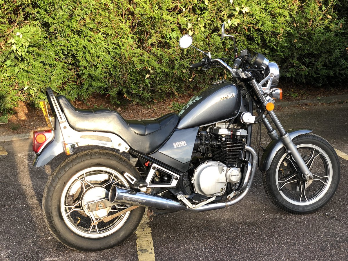 Suzuki GS550L 1983. In good usable condition 8489 Miles For Sale (picture 5 of 6)