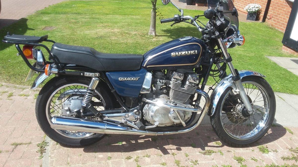 Suzuki GSX400T Excellent Condition 1981 £1950 For Sale (picture 1 of 6)