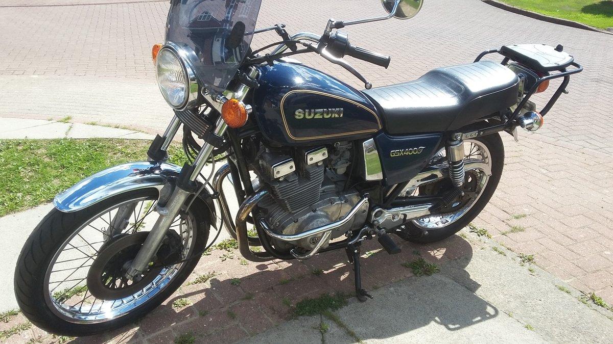 Suzuki GSX400T Excellent Condition 1981 £1950 For Sale (picture 2 of 6)