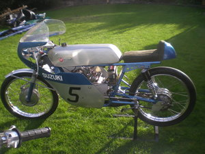 1964 Suzuki TR50 Replica ,50cc Race Bike As Seen at Stafford Show