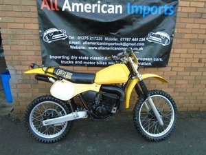 SUZUKI PE175 Z ENDURO SCRAMBLER (1982) YELLOW!  SOLD