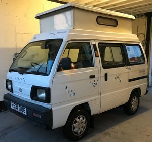 1997 Suzuki supercarry drivelodge camper van pop top
