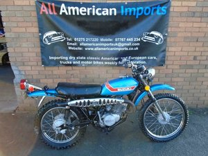 SUZUKI TS185 ENDURO ROAD LEGAL BIKE(1973)MET BLUE  For Sale
