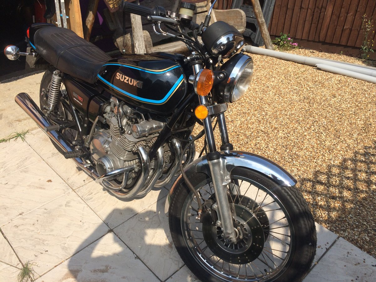 Suzuki GS 750 B 1977 one reg owner from NEW  SOLD (picture 2 of 6)