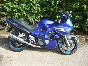 2004 Suzuki GSX600F. New MoT. 27k miles. Good cond