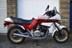 A 1985 Suzuki GSX 750V - 02/2/2020