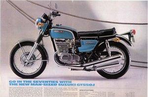 1972 Suzuki GT550