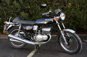 Picture of 1976 Suzuki GT380 Ram Air UK Example. SOLD