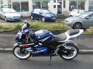 2004 04-reg Suzuki GSXR600 K4 Blue and white For Sale