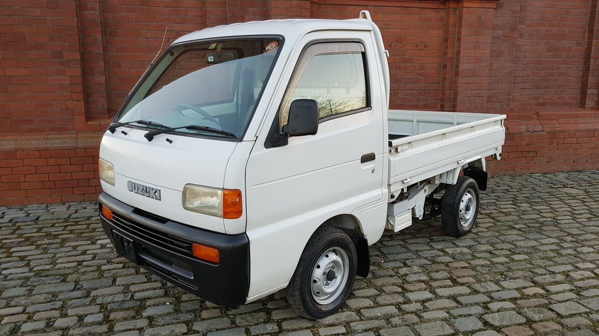 1997 SUZUKI CARRY TRUCK 660CC MANUAL TIPPER 4X4 ONLY 17000 MILES For Sale (picture 1 of 6)