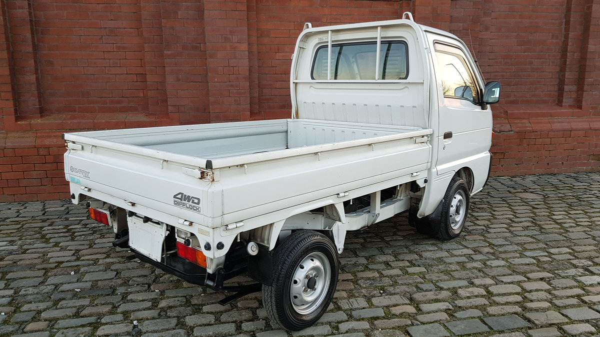 1997 SUZUKI CARRY TRUCK 660CC MANUAL TIPPER 4X4 ONLY 17000 MILES For Sale (picture 2 of 6)