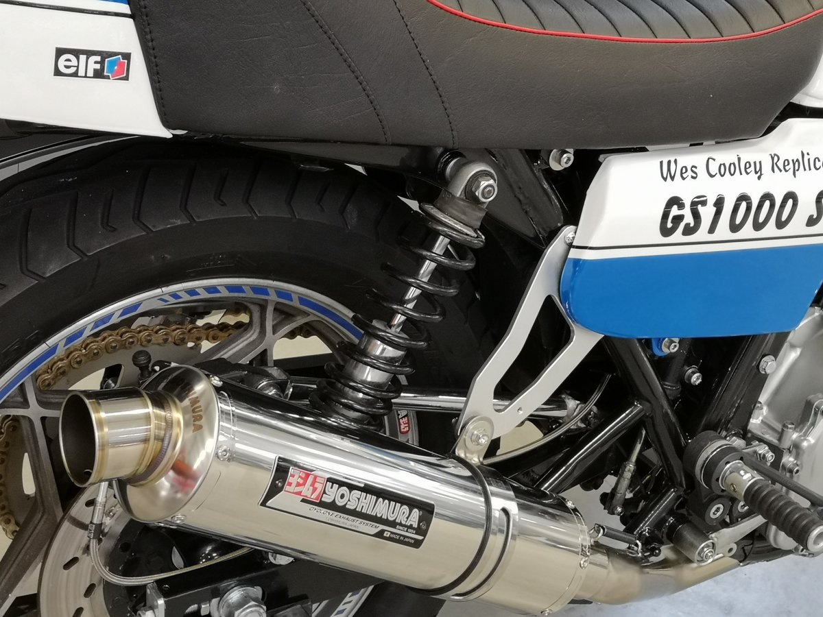 1979 Suzuki GS 1000 Wes Cooley Replica for sale SOLD (picture 6 of 6)