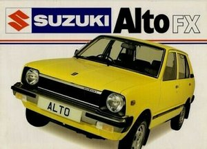 1985 just 12000 miles from New !  80s  Suzuki Alto auto  For Sale