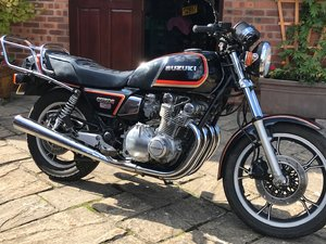 1985 GS850 For Sale  Genuine 4,200 miles For Sale