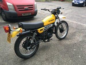 1978 SUZUKI TS250 C UK BIKE 10,000 MILES For Sale