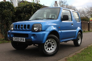 Suzuki Jimny JLX 2003 * HIGHLY MAINTAINED FSH + YRS MOT * SOLD