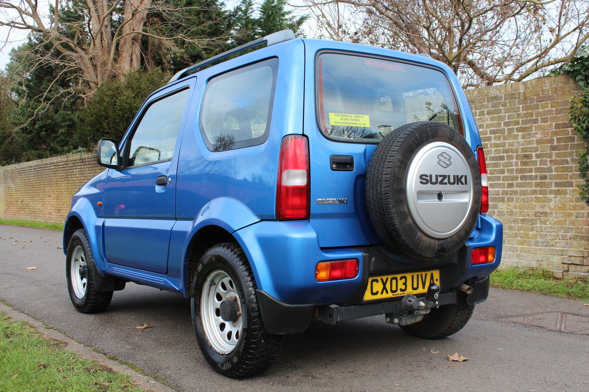 Suzuki Jimny JLX 2003 * HIGHLY MAINTAINED FSH + YRS MOT * SOLD (picture 2 of 6)
