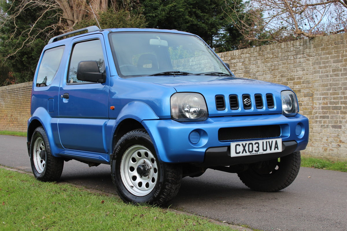 Suzuki Jimny JLX 2003 * HIGHLY MAINTAINED FSH + YRS MOT * SOLD (picture 3 of 6)