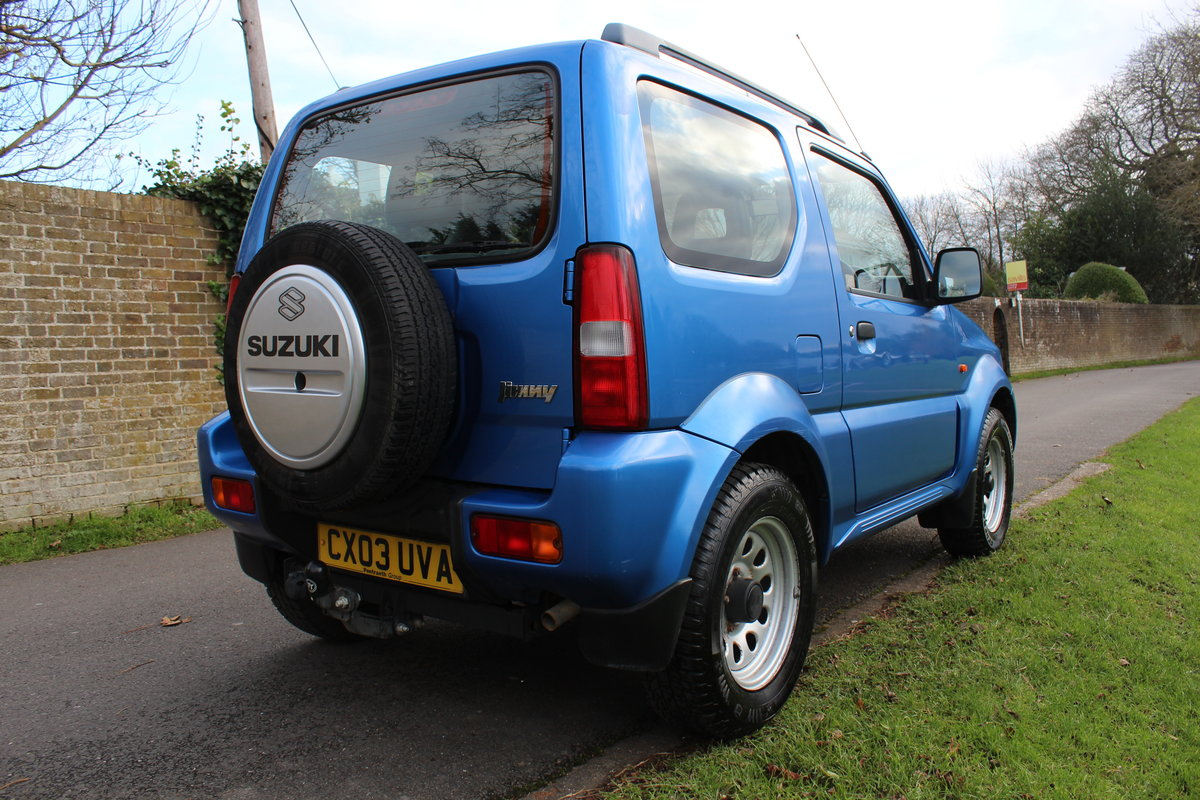 Suzuki Jimny JLX 2003 * HIGHLY MAINTAINED FSH + YRS MOT * SOLD (picture 4 of 6)