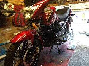 2012 gsx125 suzuki For Sale