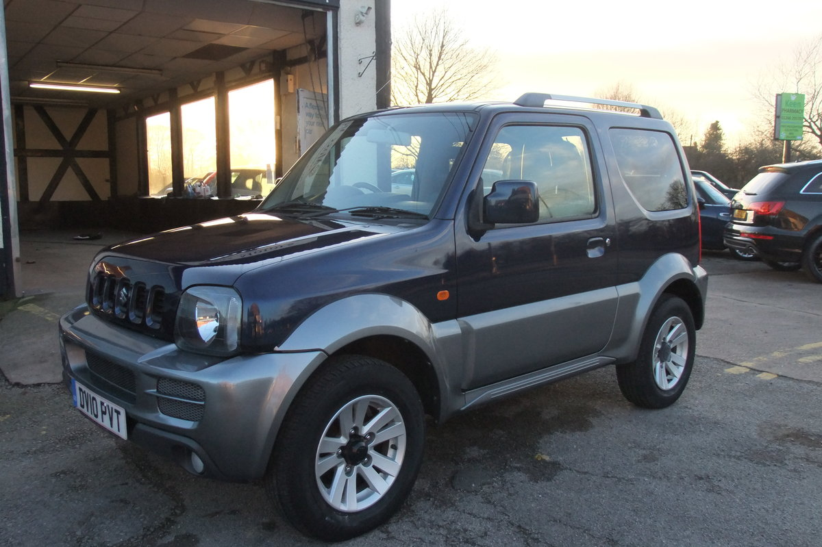 2008 SUZUKI JIMNY 1.3 SZ4 3DR SOLD (picture 1 of 6)