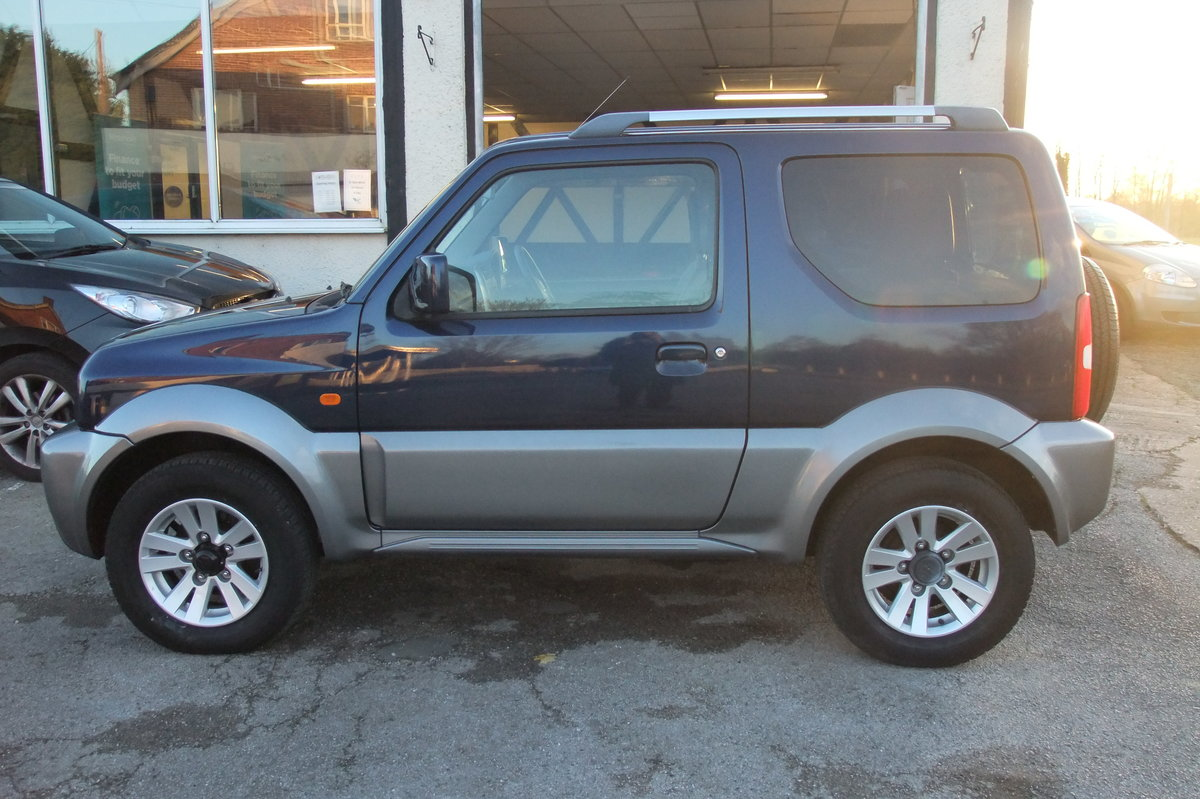 2008 SUZUKI JIMNY 1.3 SZ4 3DR SOLD (picture 2 of 6)