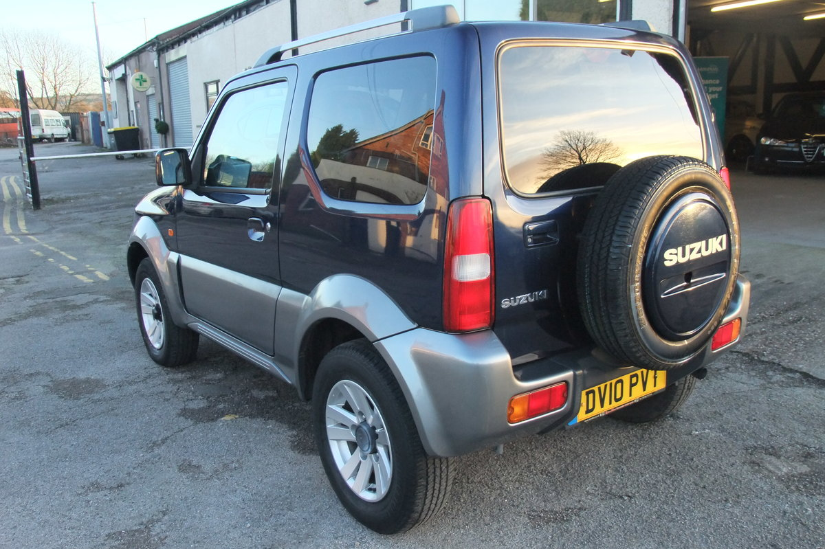 2008 SUZUKI JIMNY 1.3 SZ4 3DR SOLD (picture 3 of 6)