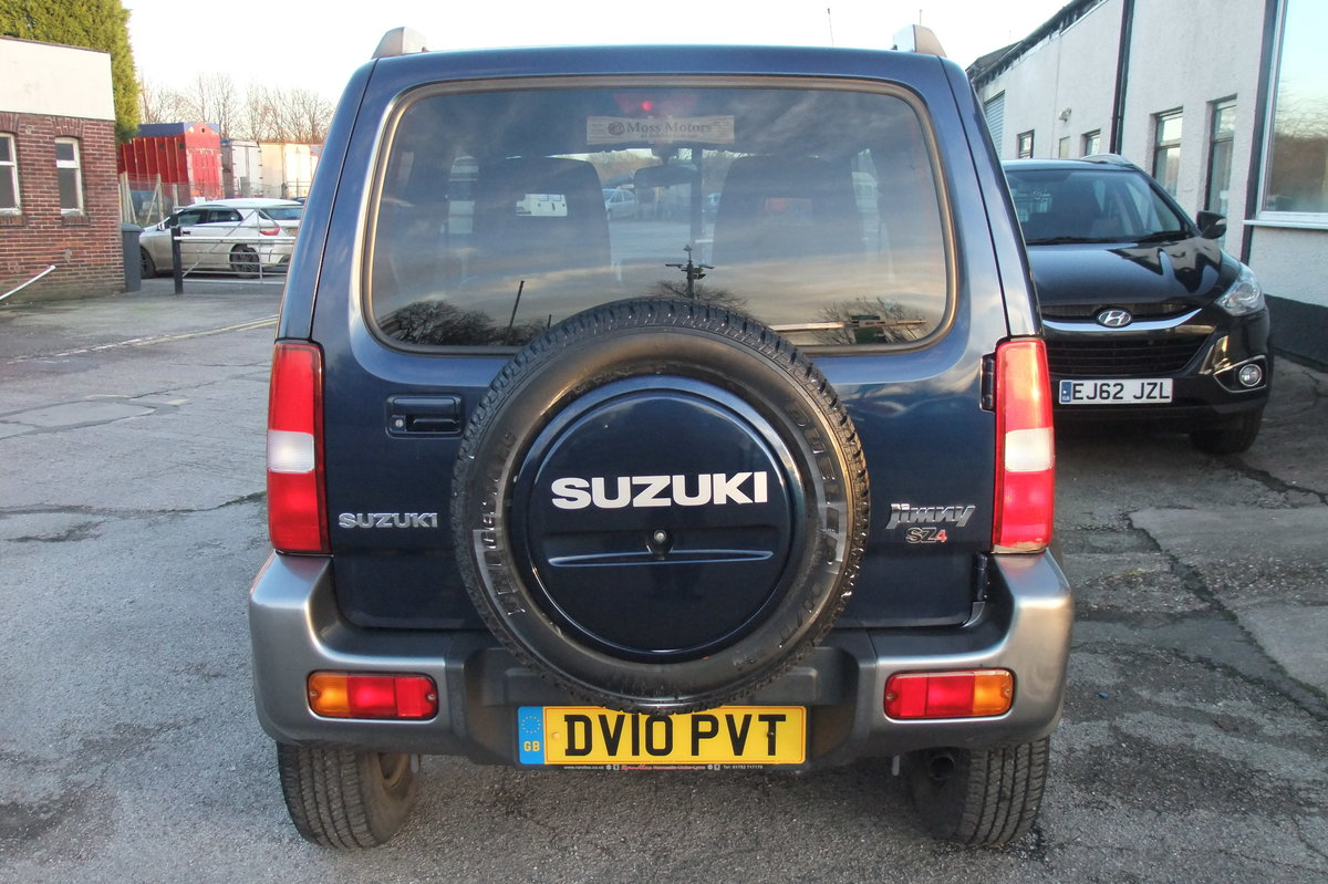 2008 SUZUKI JIMNY 1.3 SZ4 3DR SOLD (picture 5 of 6)