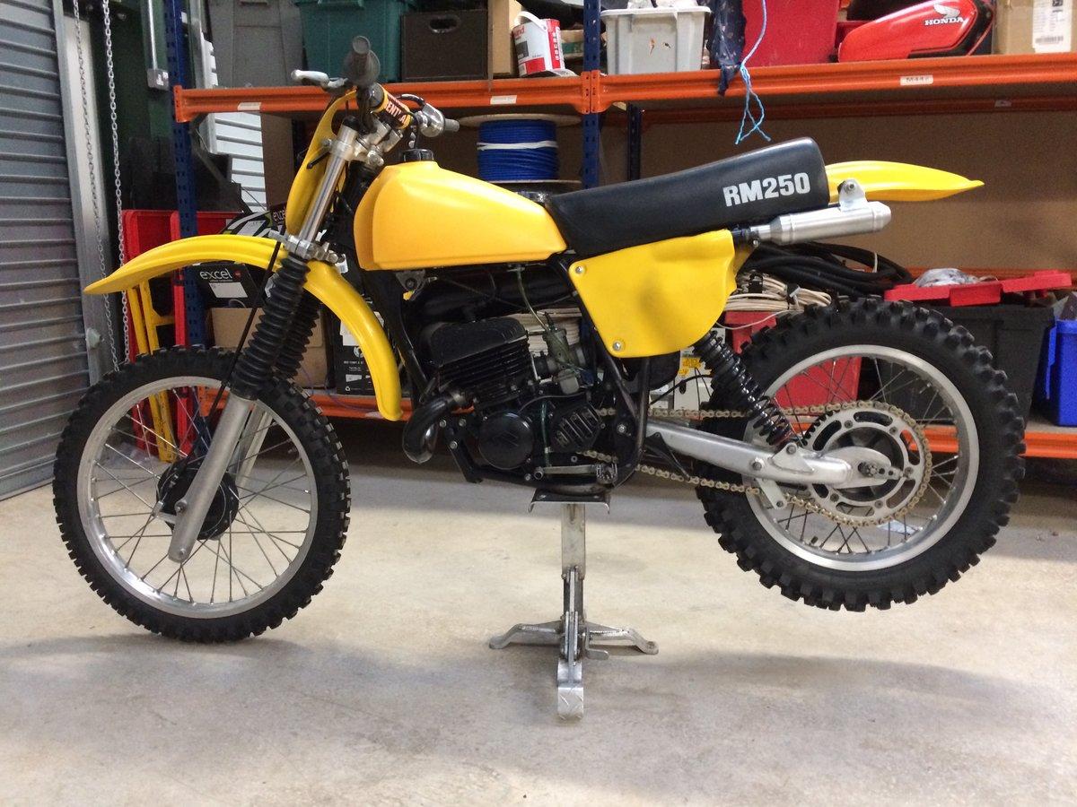 1978 Suzuki RM250C For Sale (picture 1 of 6)