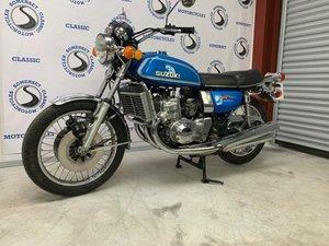 1976 Suzuki GT750 Blue Two stroke triple 17k miles SOLD