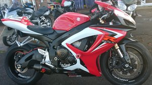 2008 FANTASTIC SUZUKI GSXR-600,  EXCELLENT EXAMPLE