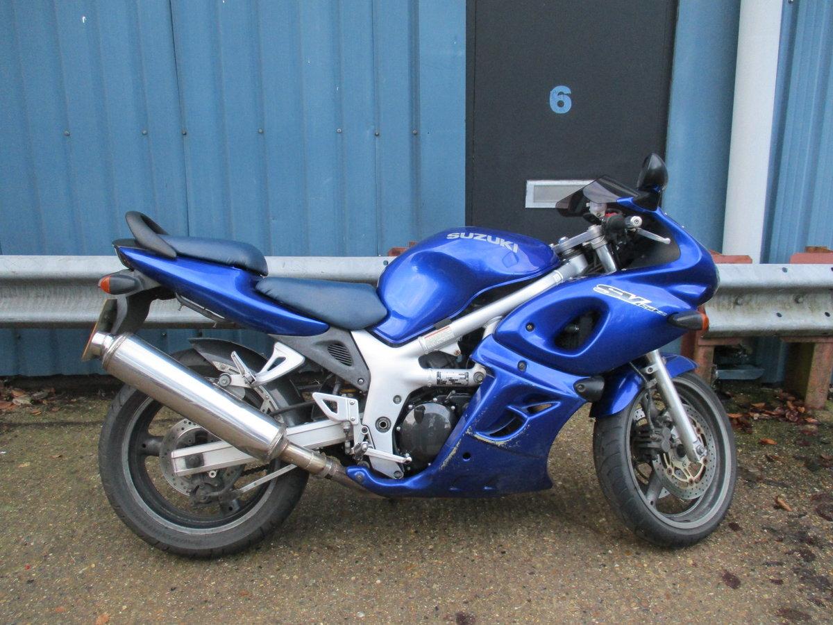 1999 Suzuki SV650S 1998 For Sale (picture 1 of 5)