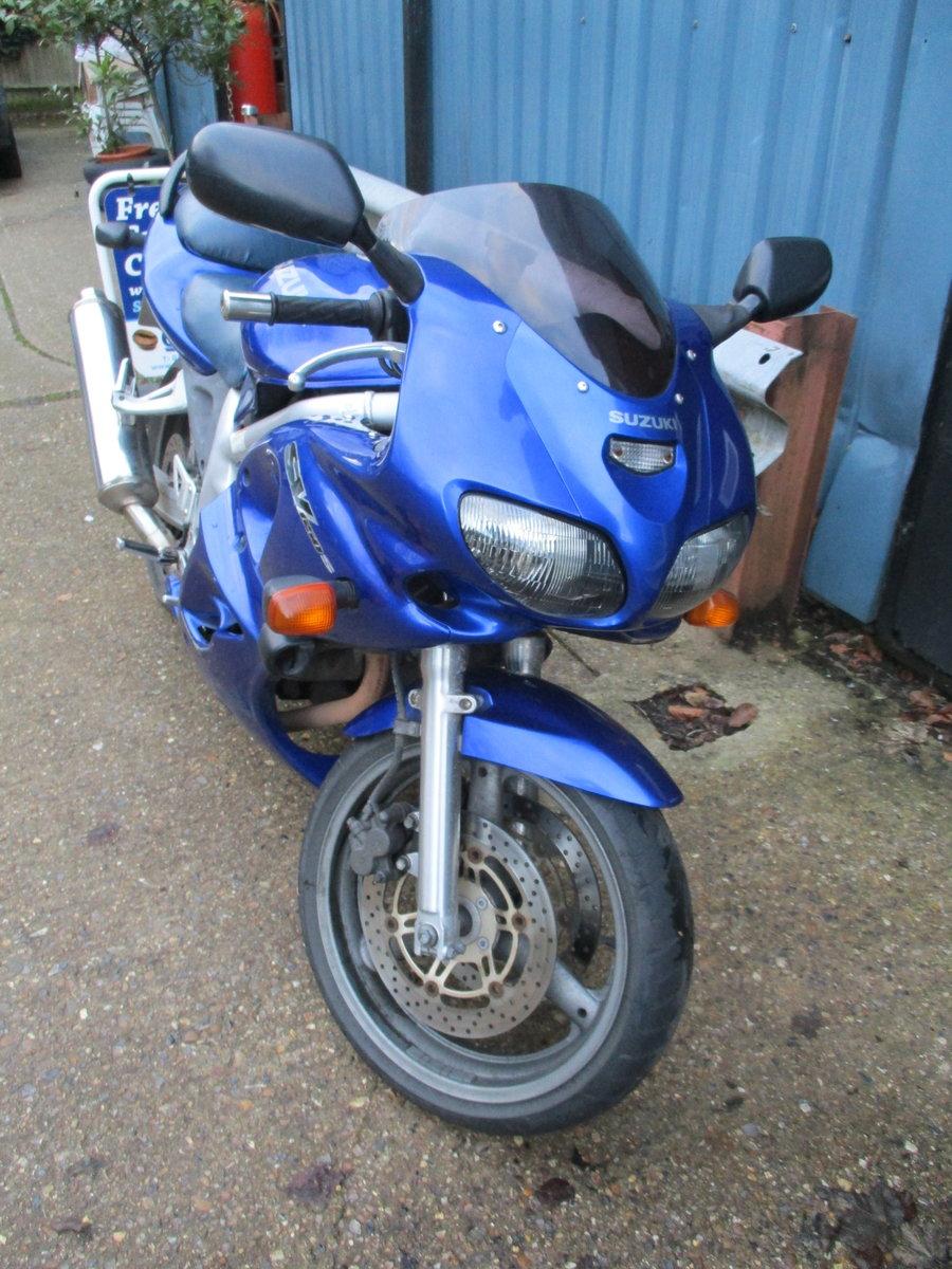 1999 Suzuki SV650S 1998 For Sale (picture 2 of 5)