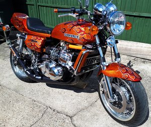 1975 REDUCED Stunning Show winning Suzuki GT750 special For Sale