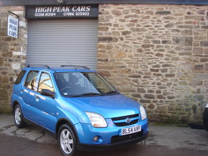 2004 54 SUZUKI IGNIS 1.5 GLX 4GRIP 5DR. 61184 MILES. 4X4. For Sale