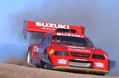 2010 WAnted Suzuki Escudo Rallye Race Car Wanted