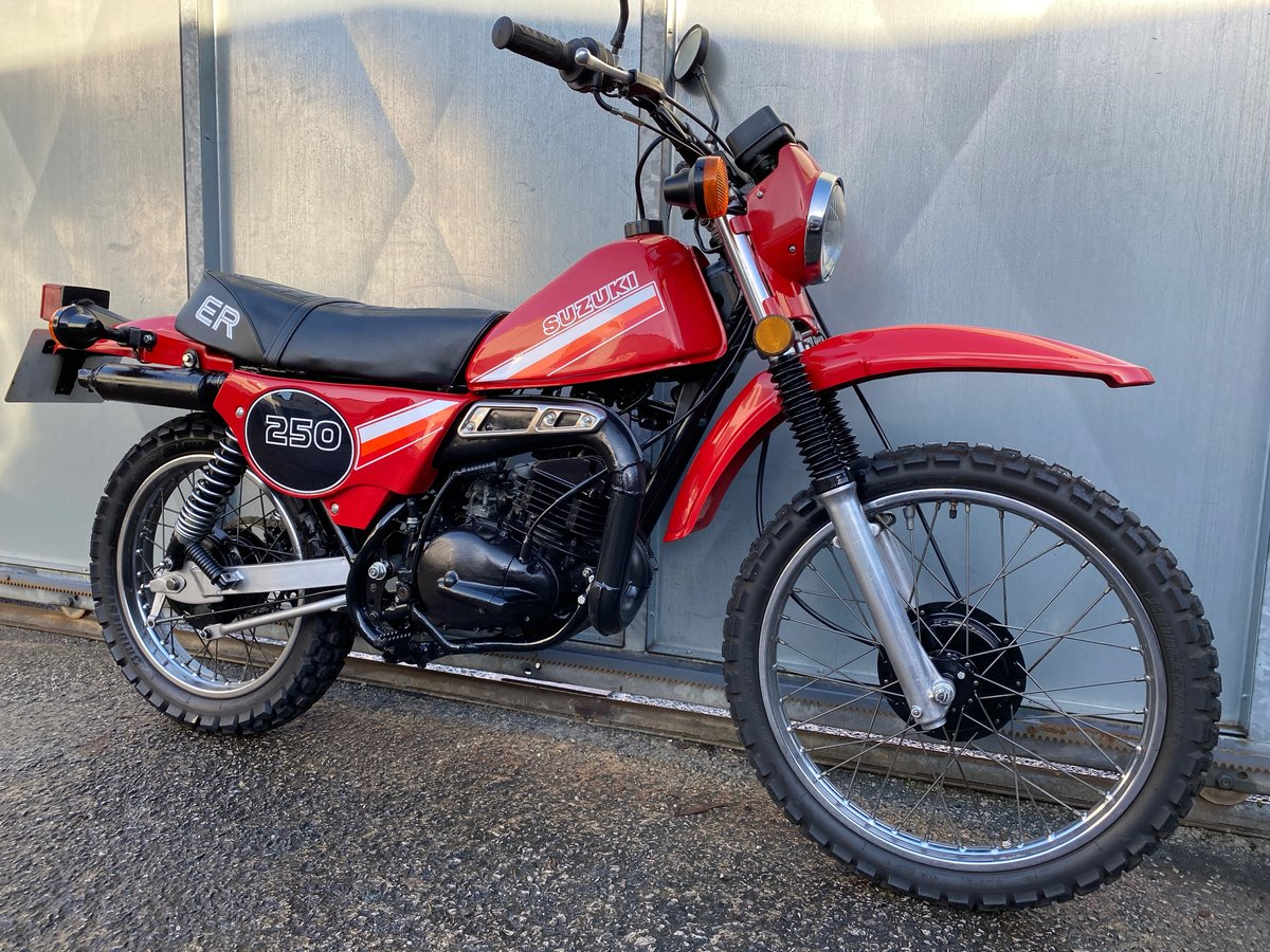 1980 SUZUKI TS 250 TS250 ER CLASSIC TRAIL BIKE OFFERS PX  For Sale (picture 1 of 6)