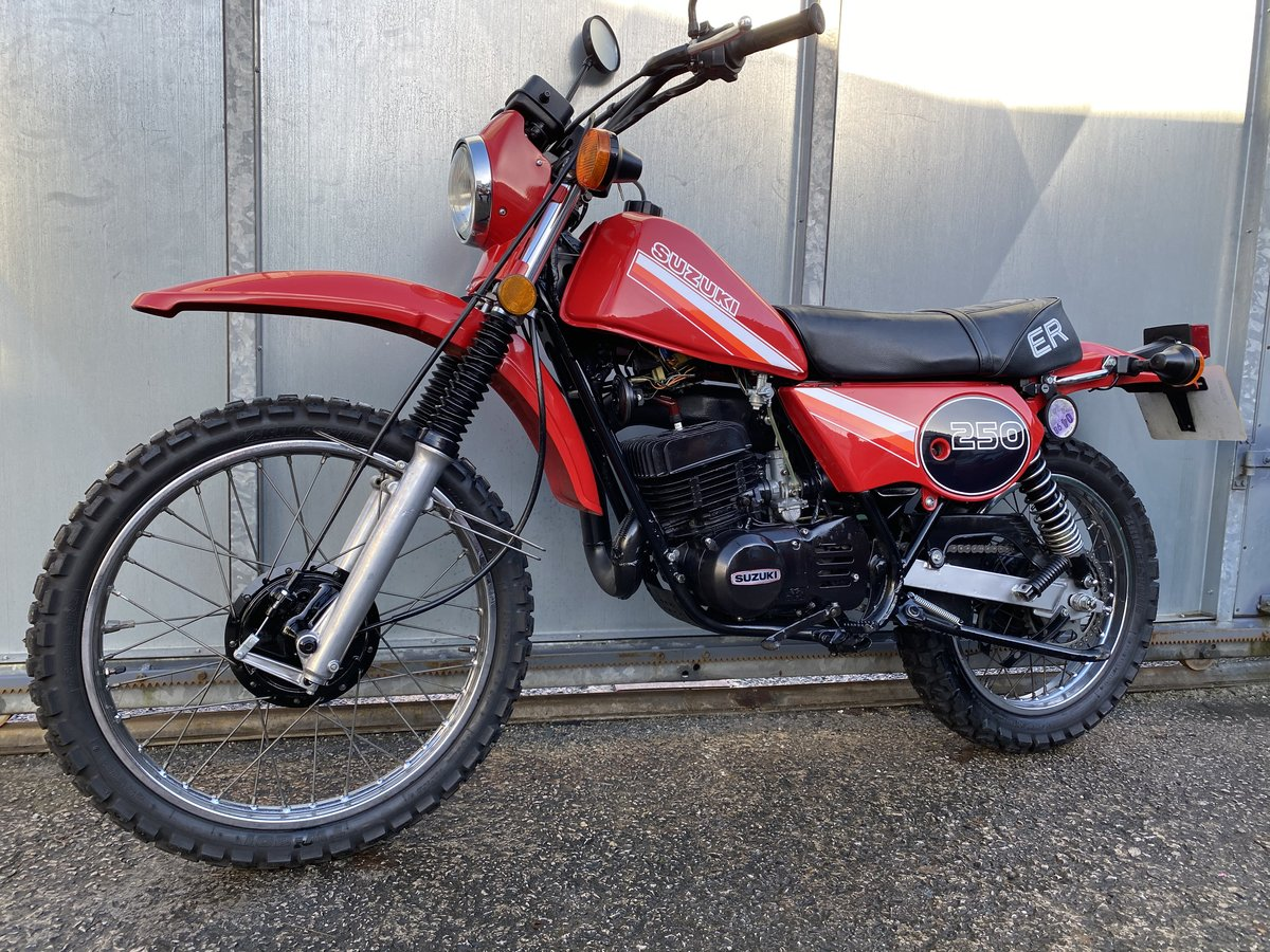 1980 SUZUKI TS 250 TS250 ER CLASSIC TRAIL BIKE OFFERS PX  For Sale (picture 2 of 6)