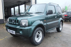 Picture of 2003 SUZUKI JIMNY 1.3 JLX 3DR SOLD