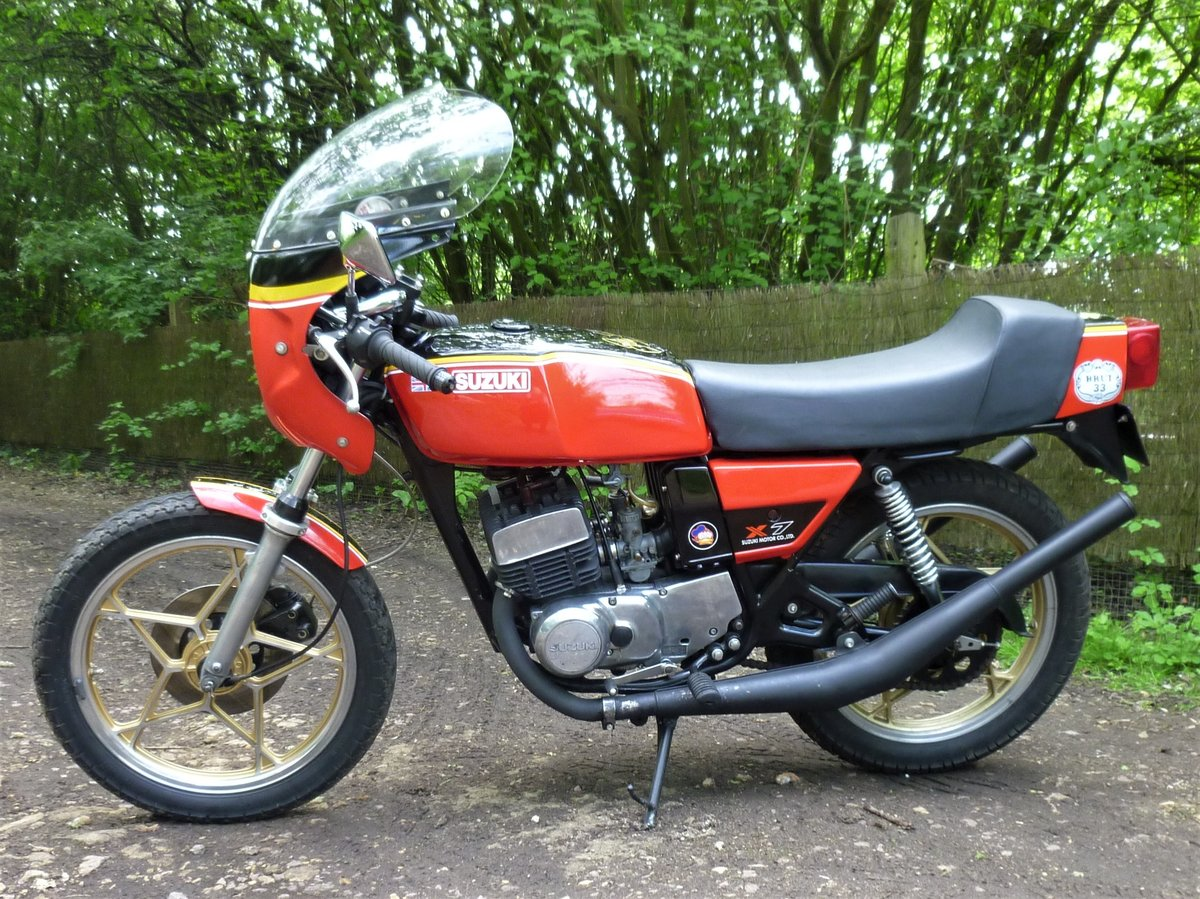 1979 Suzuki X7 Barry Sheene Texaco Heron tribute SOLD (picture 2 of 6)