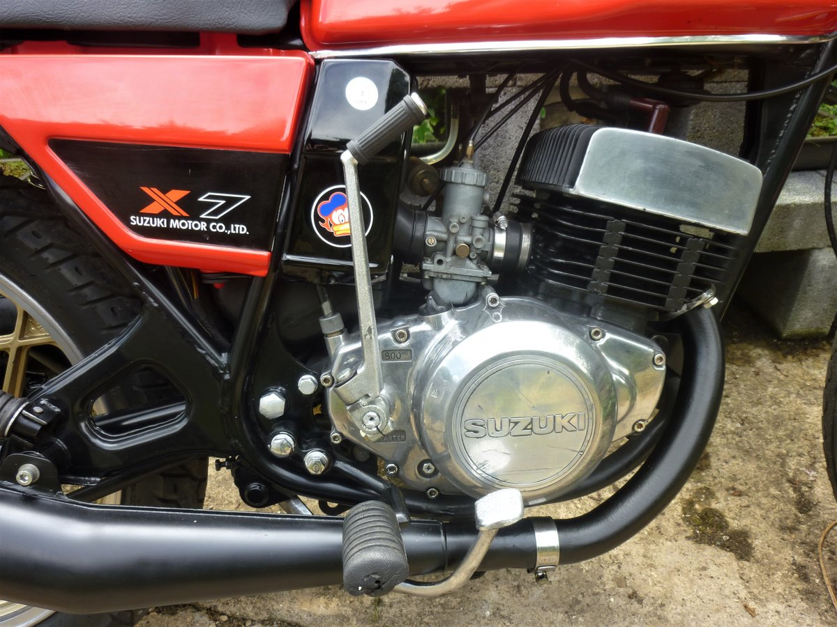 1979 Suzuki X7 Barry Sheene Texaco Heron tribute SOLD (picture 4 of 6)