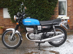 1978 Classic Suzuki GT 380 Triple For Sale