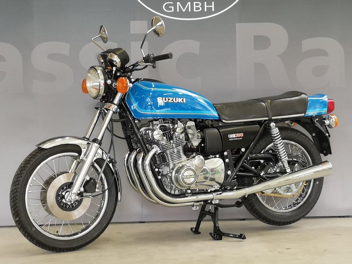 Suzuki GS 750 B from 1977 as new SOLD (picture 1 of 6)