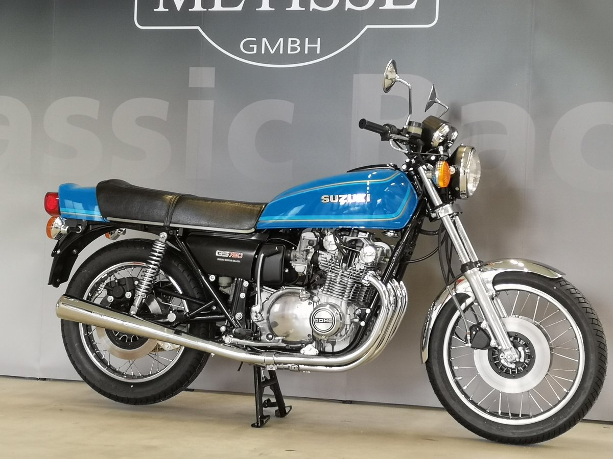 Suzuki GS 750 B from 1977 as new SOLD (picture 2 of 6)