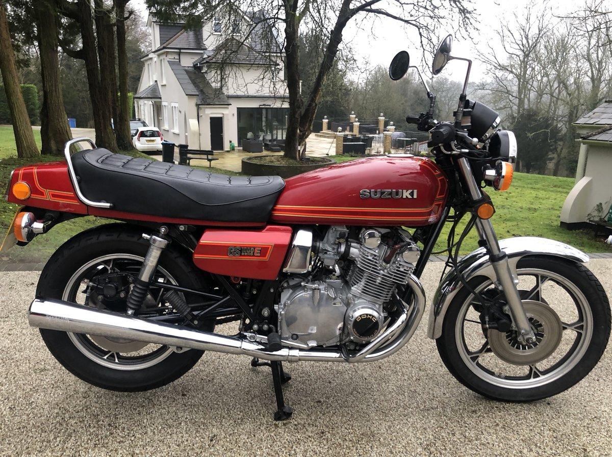 1980 GS1000ET Uk bike superb. SOLD (picture 1 of 6)