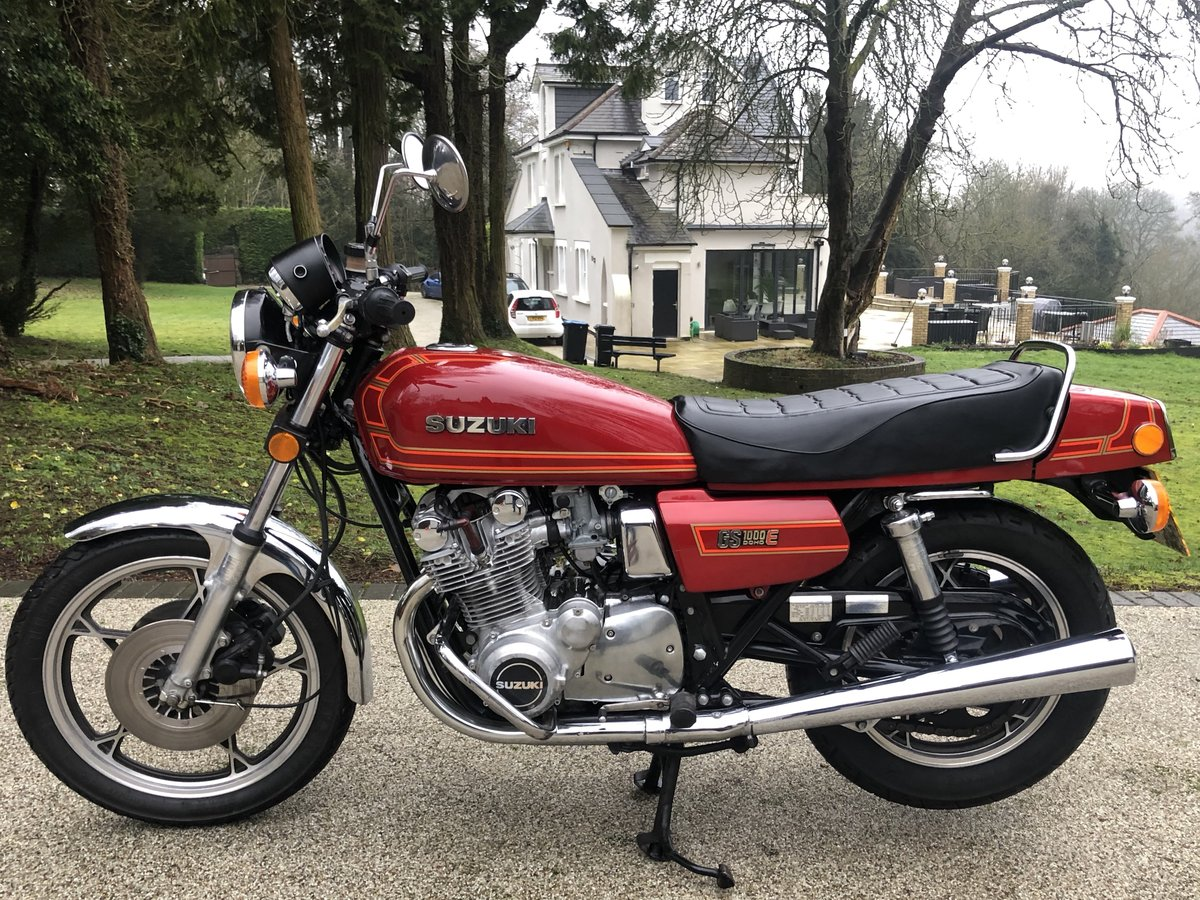 1980 GS1000ET Uk bike superb. SOLD (picture 2 of 6)