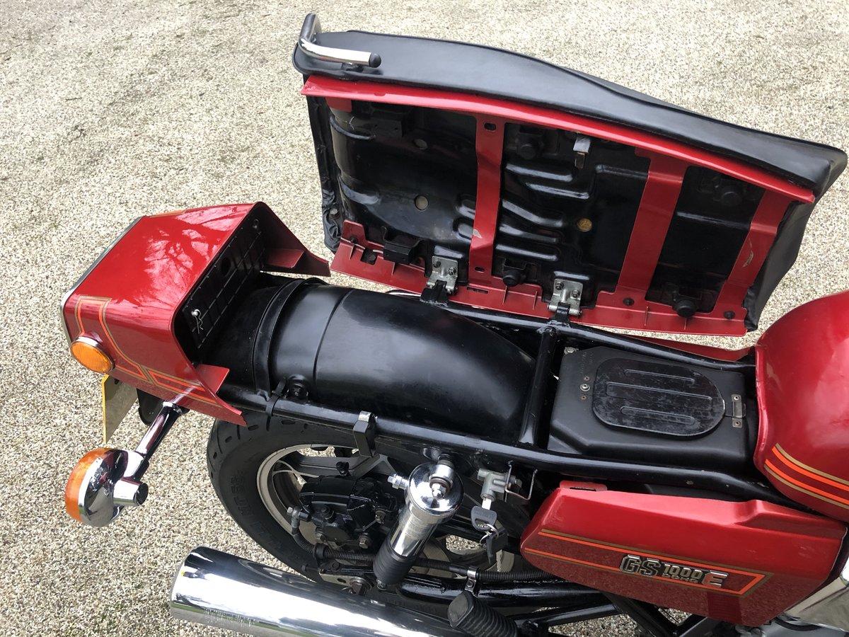 1980 GS1000ET Uk bike superb. SOLD (picture 6 of 6)