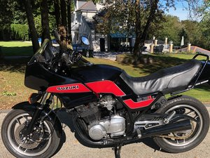 1985 GSX750ES Lovely condition UK bike