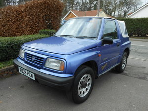 1998 Suzuki vitara sport jx soft top 1.6 4wd manual