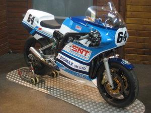 Suzuki XR69 race bike